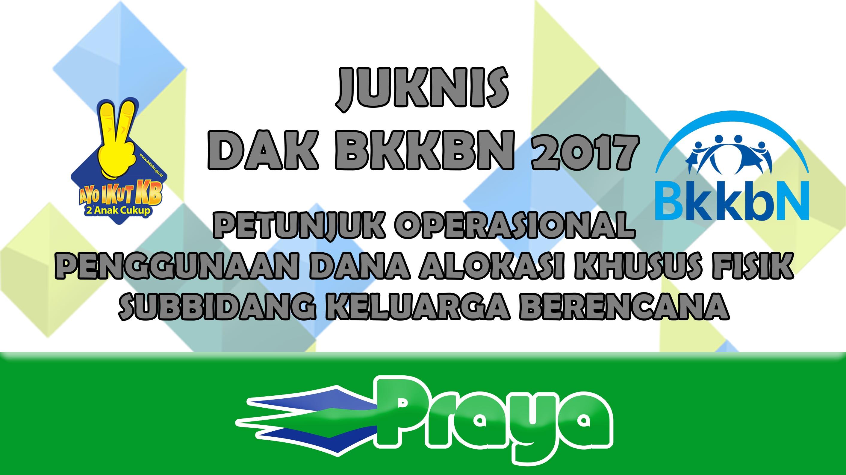 JUKNIS DAK BKKBN 2017